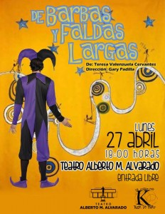 de barbas y faldas largas